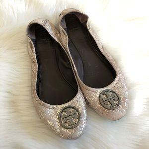 Tory Burch Reva Ballerina Flats size 9.5